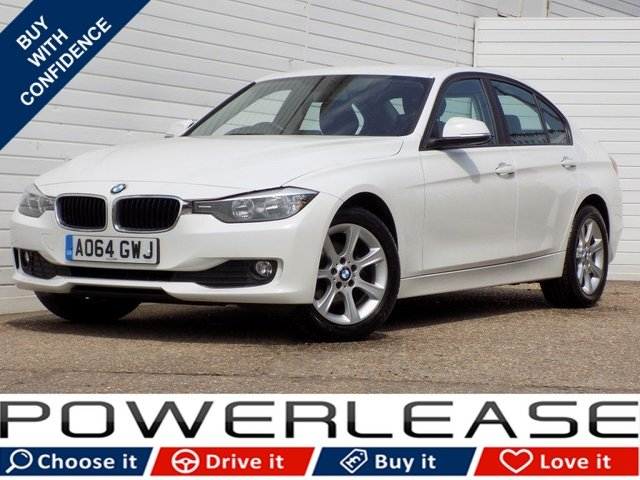 USED 2014 64 BMW 3 SERIES 2.0 316D ES 4d 114 BHP 1 OWNER FSH BLUETOOTH DAB