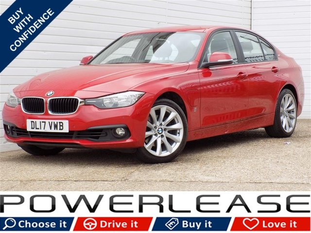 USED 2017 17 BMW 3 SERIES 2.0 330E SE 4d AUTO 181 BHP 1 OWNER SAT NAV PARKING SENSORS