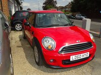 USED 2010 60 MINI HATCH ONE 1.6 ONE 3d AUTO 98 BHP