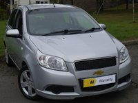 USED 2011 11 CHEVROLET AVEO 1.2 LS 5d 83 BHP AMAZING VALUE!!! IDEAL 1ST CAR
