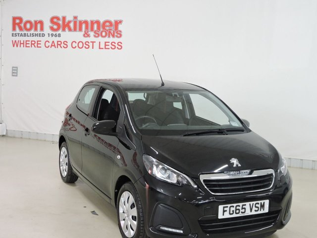 View our 2015 65 PEUGEOT 108 (73)    1.0 ACTIVE 5d 68 BHP