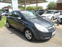 2009 VAUXHALL CORSA 1.2 ACTIVE 3d 80 BHP LOW INSURANCE £2995.00