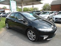 2010 HONDA CIVIC 2.2 I-CTDI SI 5d 138 BHP HANDSFREE PARROT FITTED £4995.00
