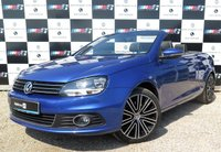 USED 2015 64 VOLKSWAGEN EOS 2.0 EXCLUSIVE TDI BLUEMOTION TECHNOLOGY 2d 139 BHP
