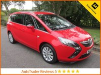 USED 2015 15 VAUXHALL ZAFIRA TOURER 2.0 SE CDTI 5d 128 BHP Fantastic One Owner Low Mileage Zafira Tourer SE with Half Leather, Seven Seats, Climate Control, Cruise Control, Alloy Wheels and Vauxhall Service History