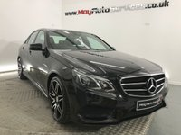 2016 MERCEDES-BENZ E CLASS 2.1 E220 BLUETEC AMG NIGHT EDITION 4d AUTO 174 BHP £18495.00