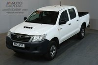 USED 2013 13 TOYOTA HI-LUX 2.5 HL2 4X4 142 BHP AIR CON  ONE OWNER FROM NEW, FULL SERVICE HISTORY