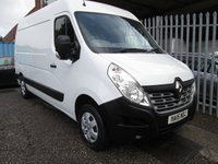 2015 RENAULT MASTER MM35 BUSINESS PLUS DCI 125 *AIR CON + BLUETOOTH* £9995.00