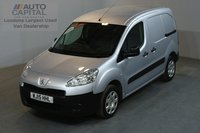 USED 2015 15 PEUGEOT PARTNER 1.6 HDI PROFESSIONAL 850 89 BHP SWB AIR CON ONE OWNER, SERVICE HISTORY, AIR CONDITION