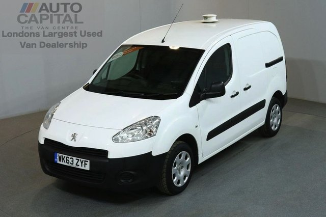 2013 63 PEUGEOT PARTNER 1.6 HDI PROFESSIONAL L1 850 5d 89 BHP AIR CON SWB DIESEL PANEL VAN AIR CONDITIONING ONE OWNER
