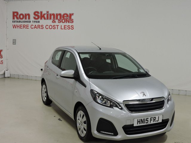 View our 2015 15 PEUGEOT 108 1.0 ACTIVE 5d 68 BHP