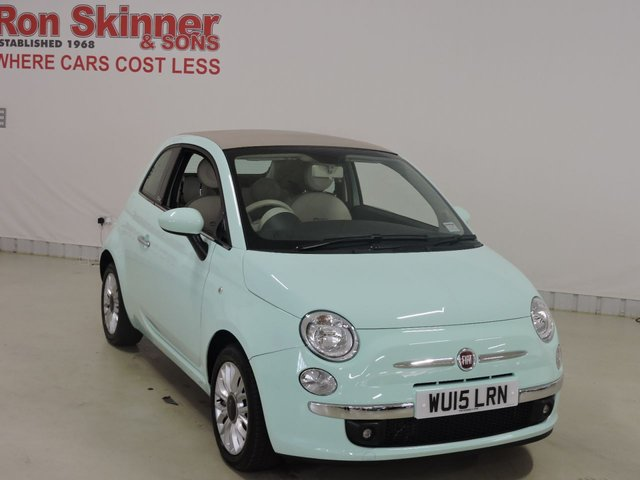View our 2015 15 FIAT 500 0.9 TWINAIR C LOUNGE 3d 85 BHP
