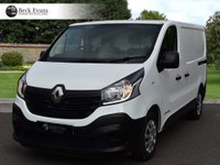USED 2016 66 RENAULT TRAFIC 1.6 SL27 BUSINESS ENERGY DCI 1d 125 BHP PLY LINED CHOICE OF VANS