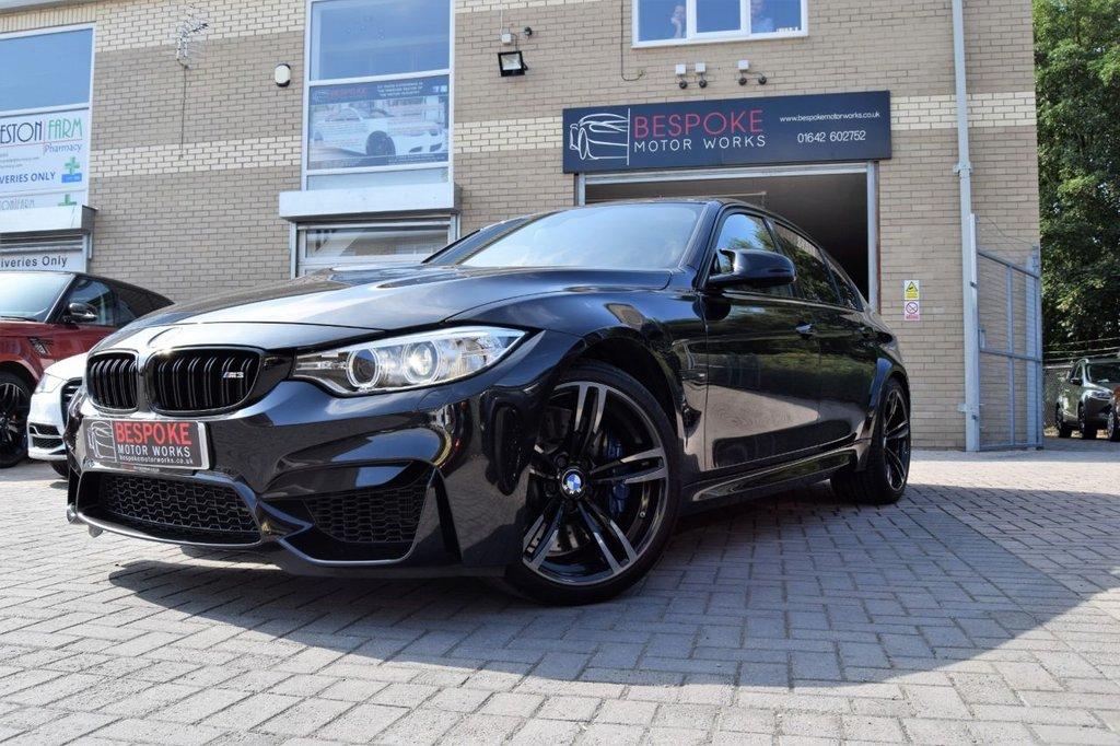 USED 2016 16 BMW M3 3.0 TWIN TURBO SALOON DCT