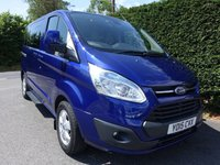 2015 FORD TOURNEO CUSTOM LIMITED 9 SEATER MINIBUS 2.2 TDCI 155PS £16995.00