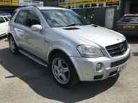 USED 2007 07 MERCEDES-BENZ M CLASS 6.2 ML63 AMG 4MATIC 5d AUTO 503 BHP IN SILVER IN STUNNING CONDITION APPROVED CARS ARE PLEASED TO OFFER THIS MERCEDES-BENZ M CLASS 6.2 ML63 AMG 4MATIC 5 DOOR AUTOMATIC 503 BHP IN SILVER IN STUNNING CONDITION INSIDE AND OUT THESE ARE A TRULY STUNNING CAR WITH EVERY EXTRA SEE PICTURES TO MUCH SPEC TO LIST WITH A FULL SERVICE HISTORY SERVICED AT 11K,22K,34K,44K,49K,55K,64K,75K AND 86K (7 MERCEDES MAIN DEALER STAMPS AND 2 SPECIALIST).