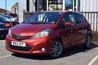 2012 TOYOTA YARIS 1.3 VVT-I SR 5d 98 BHP £5895.00
