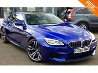 USED 2015 65 BMW 6 SERIES 4.4 M6 GRAN COUPE 4d AUTO 553 BHP