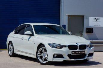 2015 BMW 3 SERIES 2.0 320D M SPORT 4d AUTO (SAT NAV) £16991.00