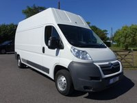 2012 CITROEN RELAY 35 HDI L3 H3 LWB EXTRA HIGHTOP 2.2 HDI 130PS £8995.00