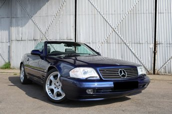 2001 MERCEDES-BENZ SL