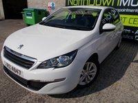 2014 PEUGEOT 308 1.6 HDI ACTIVE 5d 92 BHP £7995.00
