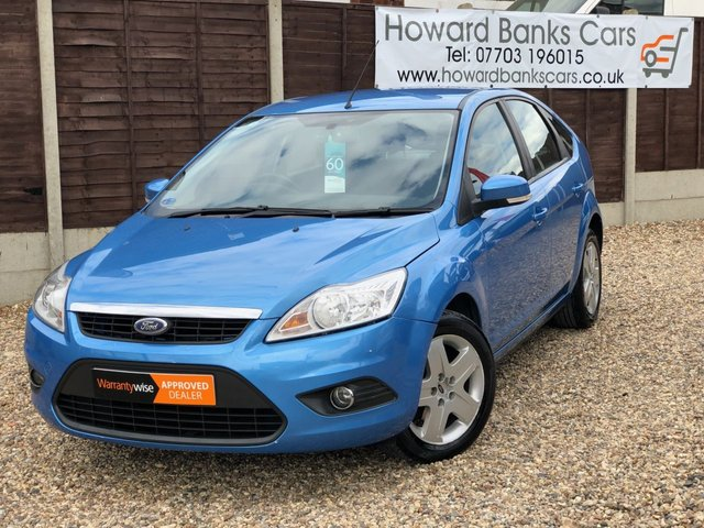 2008 08 FORD FOCUS 1.6 STYLE 5dr 100 BHP - Manual