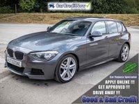 2013 BMW 1 SERIES 2.0 116D M SPORT 5d 114 BHP £10995.00