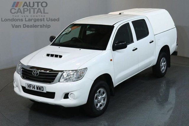 2014 14 TOYOTA HI-LUX 2.5 ACTIVE 4X4 D-4D DCB 4d 142 BHP MWB AIR CON PICK UP