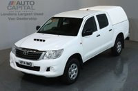 USED 2014 14 TOYOTA HI-LUX 2.5 ACTIVE 4X4 D-4D DCB 4d 142 BHP MWB AIR CON PICK UP AIR CONDITIONING / SPARE KEY
