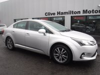 USED 2014 04 TOYOTA AVENSIS 2.0 D-4D ICON 4d 124 BHP