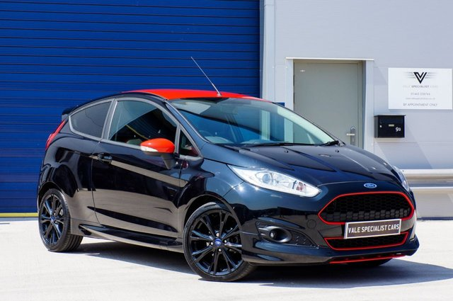 2015 FORD FIESTA 1.0 ZETEC S BLACK EDITION 3d 139 BHP