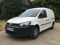 USED 2012 62 VOLKSWAGEN CADDY MAXI 1.6 C20 TDI BLUEMOTION TECHNOLOGY 1d 101 BHP AIR CON, MAIN DEALER SERVICE AIR CON, MAIN DEALER SERVICE 1 OWNER,