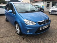 USED 2008 58 FORD C-MAX 1.8 TITANIUM TDCI 5d 116 BHP PANORAMIC ROOF / LEATHER / PARKING SENSORS / PRIVACY GLASS / FULL SERVICE HISTORY
