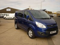 2015 FORD TRANSIT CUSTOM  290 LIMITED L1H1  DOUBLE CAB 2.2TDCI 155PS Air con Bluetooth rear view Camera  and much more  £13895.00