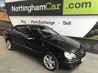 2006 MERCEDES-BENZ CLK 3.0 CLK280 AVANTGARDE 2d AUTO 228 BHP £5495.00