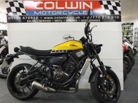 USED 2016 16 YAMAHA XSR700 689cc XSR 700 ABS  60th ANNIVERSARY EDITION!!!!