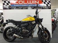 2016 YAMAHA XSR700 689cc XSR 700 ABS  £5795.00