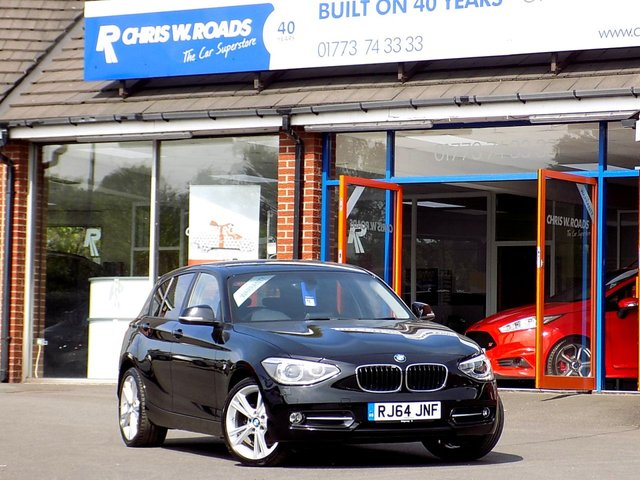 USED 2014 64 BMW 1 SERIES 2.0 116D SPORT NAV 5dr  ** 18in Alloys + Sat Nav **