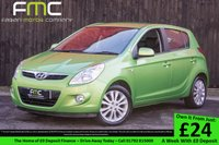USED 2010 60 HYUNDAI I20 1.4 STYLE 5d 99 BHP 1 Previous Owner - Low Mileage