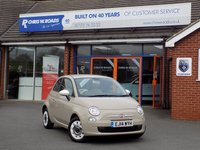 USED 2014 14 FIAT 500 1.2 COLOUR THERAPY 3dr  ** Low Miles + ONLY £30 Road Tax **