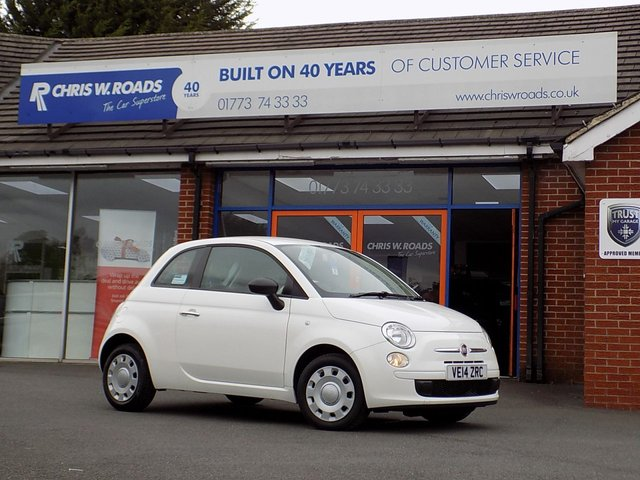USED 2014 14 FIAT 500 1.2 POP 3dr  ** Only £30 Road Tax + F/S/H **