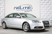 USED 2011 11 AUDI A6 2.0 TDI S LINE SPECIAL EDITION 4d 168 BHP FULL HISTORY/NAV/LEATHER/ AMI