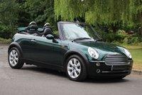 2004 MINI CONVERTIBLE 1.6 COOPER 2d 114 BHP £3590.00