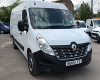 USED 2015 65 RENAULT MASTER 2.3 MML35 BUSINESS DCI S/R P/V 1d 125 BHP IMMACULATE
