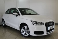 USED 2016 16 AUDI A1 1.0 TFSI SE 3DR AUTOMATIC 93 BHP FULL AUDI SERVICE HISTORY + BLUETOOTH + DAB RADIO + AIR CONDITIONING + ELECTRIC WINDOWS + 15 INCH ALLOY WHEELS