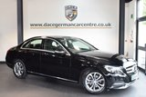 USED 2014 14 MERCEDES-BENZ C CLASS 2.1 C220 BLUETEC SPORT 4DR 170 BHP + FULL MERC SERVICE HISTORY + FULL BLACK LEATHER INTERIOR + SAT NAV PREP + BLUETOOTH + CRUISE CONTROL + HEATED SPORT SEATS + HEATED SPORT SEATS + REVERSE CAMERA + PARKING SENSORS + DAB RADIO + 17 INCH ALLOY WHEELS +