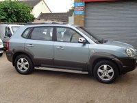 2005 HYUNDAI TUCSON 2.0 GSI CRTD 4WD 5d 111 BHP £2750.00