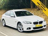2013 BMW 5 SERIES 3.0 530D M SPORT 4d AUTO 255 BHP £16500.00