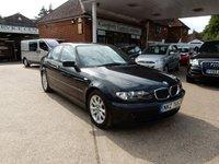 2005 BMW 3 SERIES 2.0 320D ES 4d 148 BHP £1990.00